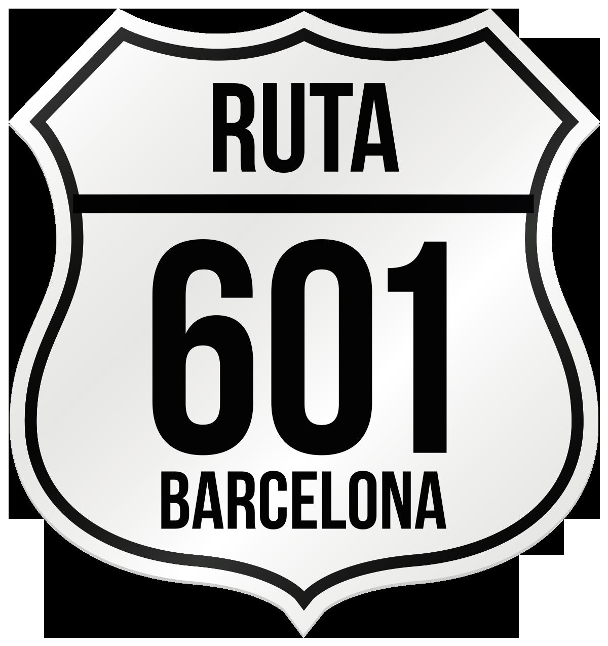 Ruta 601 Barcelona | Web oficial de la  Ruta601